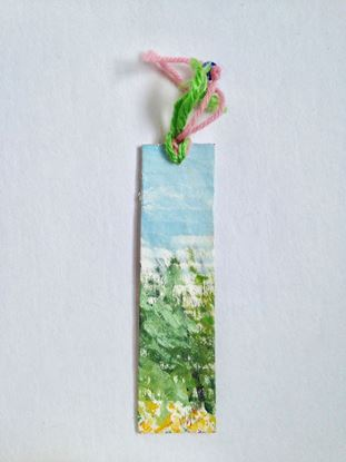 Picture of Bookmark with landscape