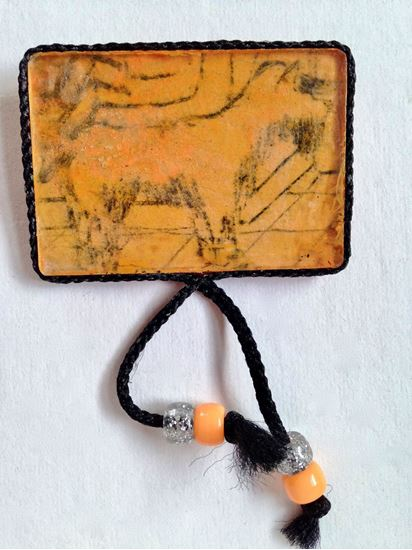 Picture of Brooch, dog
