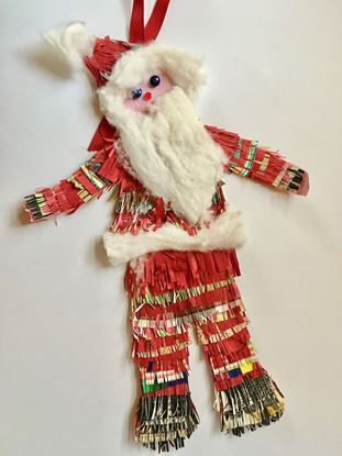 Picture of Christmas Santa Clause ornament