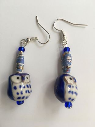 Picture of Earrings Owls