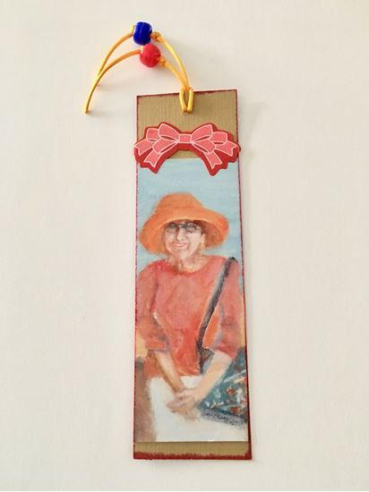 Picture of Bookmark, faces