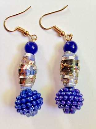Picture of Earrings in blue