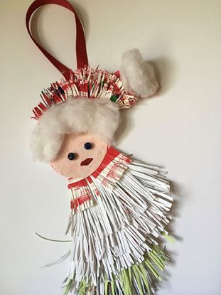 Picture of Ornament, Santa's Head